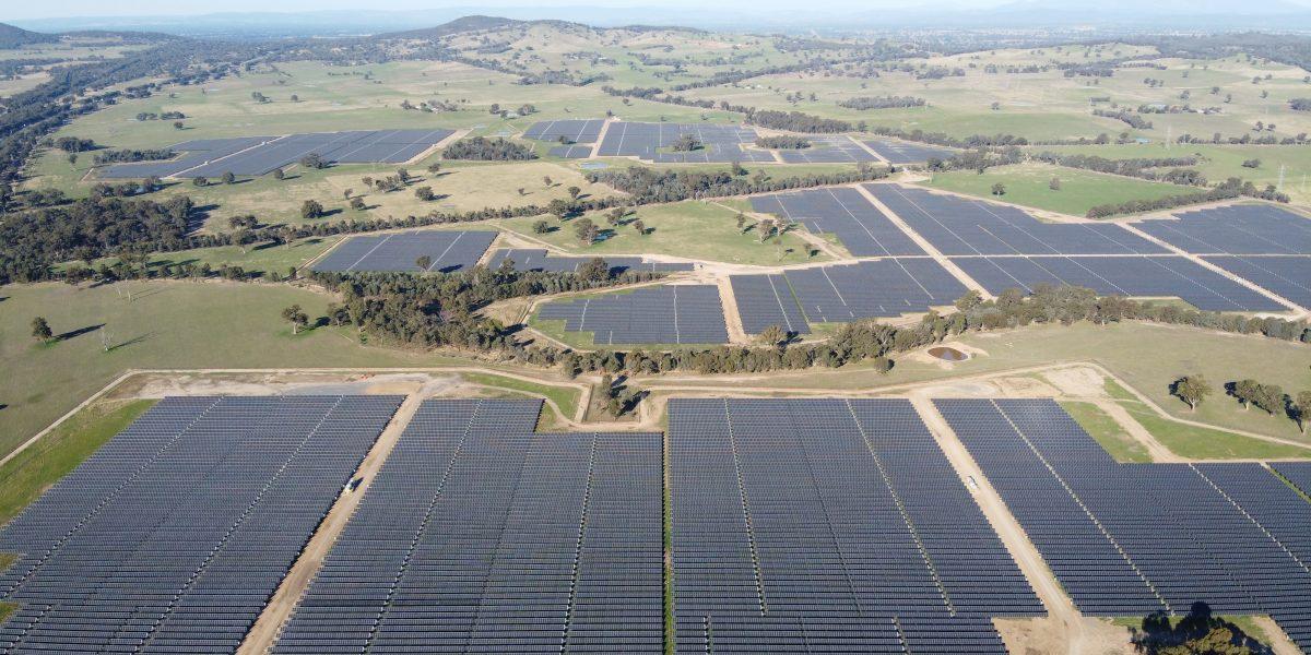 Photovoltaic Plant Glenrowan, Australia