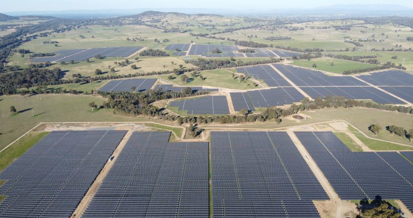 GLENROWAN – THE LARGEST PHOTOVOLTAIC PLANT FROM WIRTGEN INVEST SUCCESSFULLY CONNECTED IN AUSTRALIA