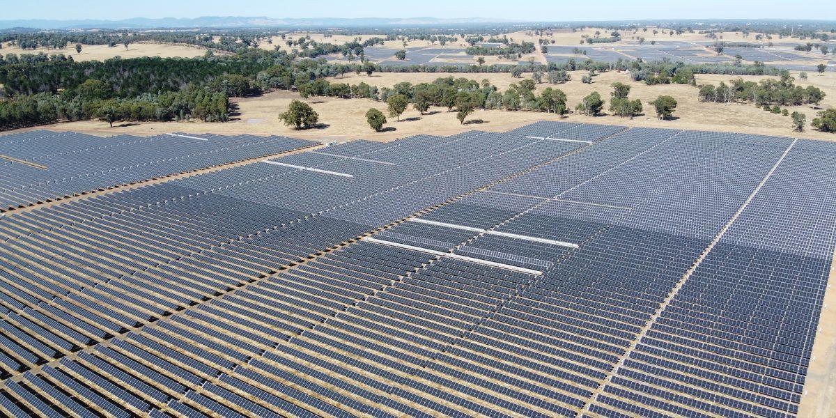 Photovoltaikanlage Glenrowan, Australien