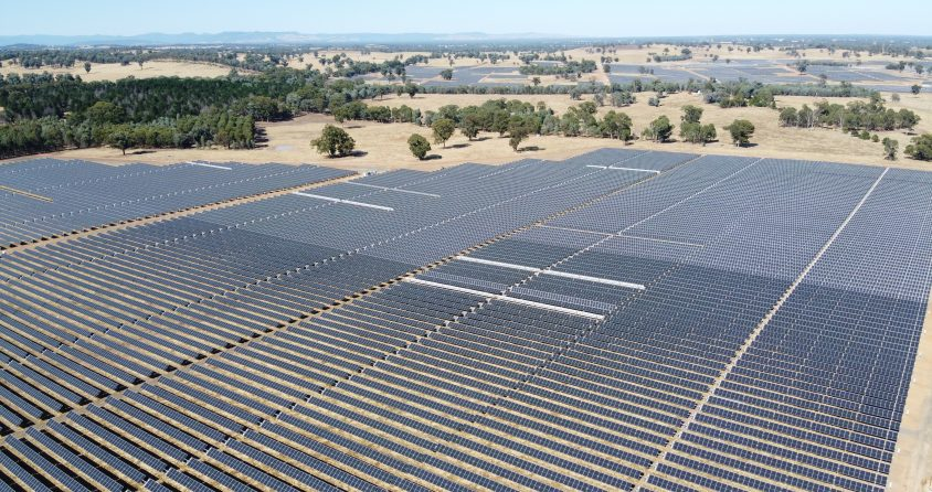 The Glenrowan Photovoltaic Plant. A long-term investment in the Australian solar market.