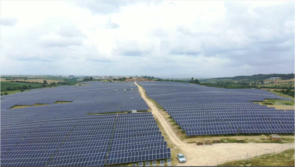 CONTINUATION OF ONE THE LARGEST SOLAR PROJECTS IN PORTUGAL.