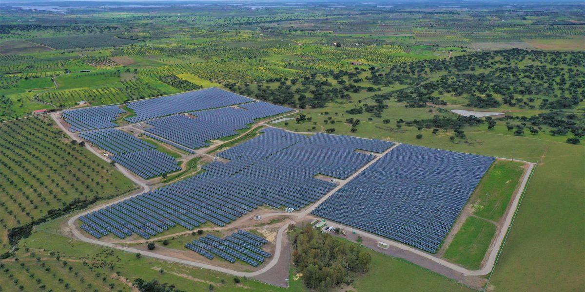 Photovoltaic plant Amareleja, Portugal