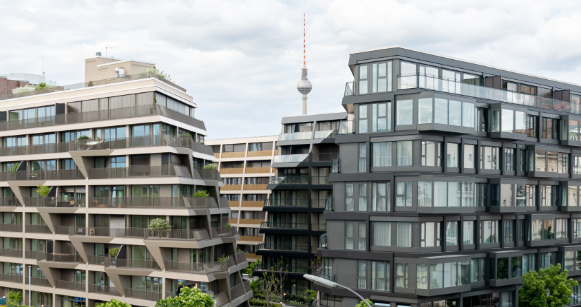 High-end residential district in Berlin's centre.
