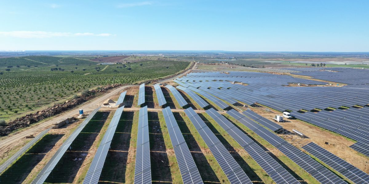 Photovoltaic plant Ferreira Do Alentejo, Portugal